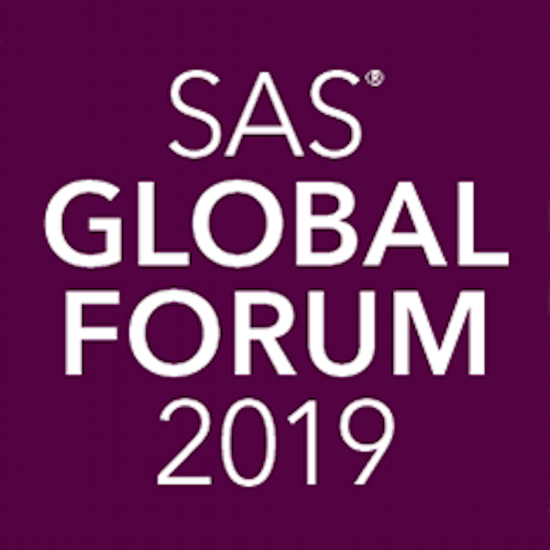 SAS Global Forum 2019 Logo